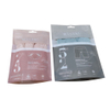 Customize PLA Biodegradable Clothes Clear Packaging With Zipper