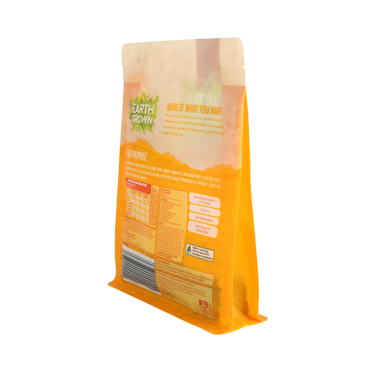 Compostable Matte Plastic Ziplock Recyclable Food Packaging Bag