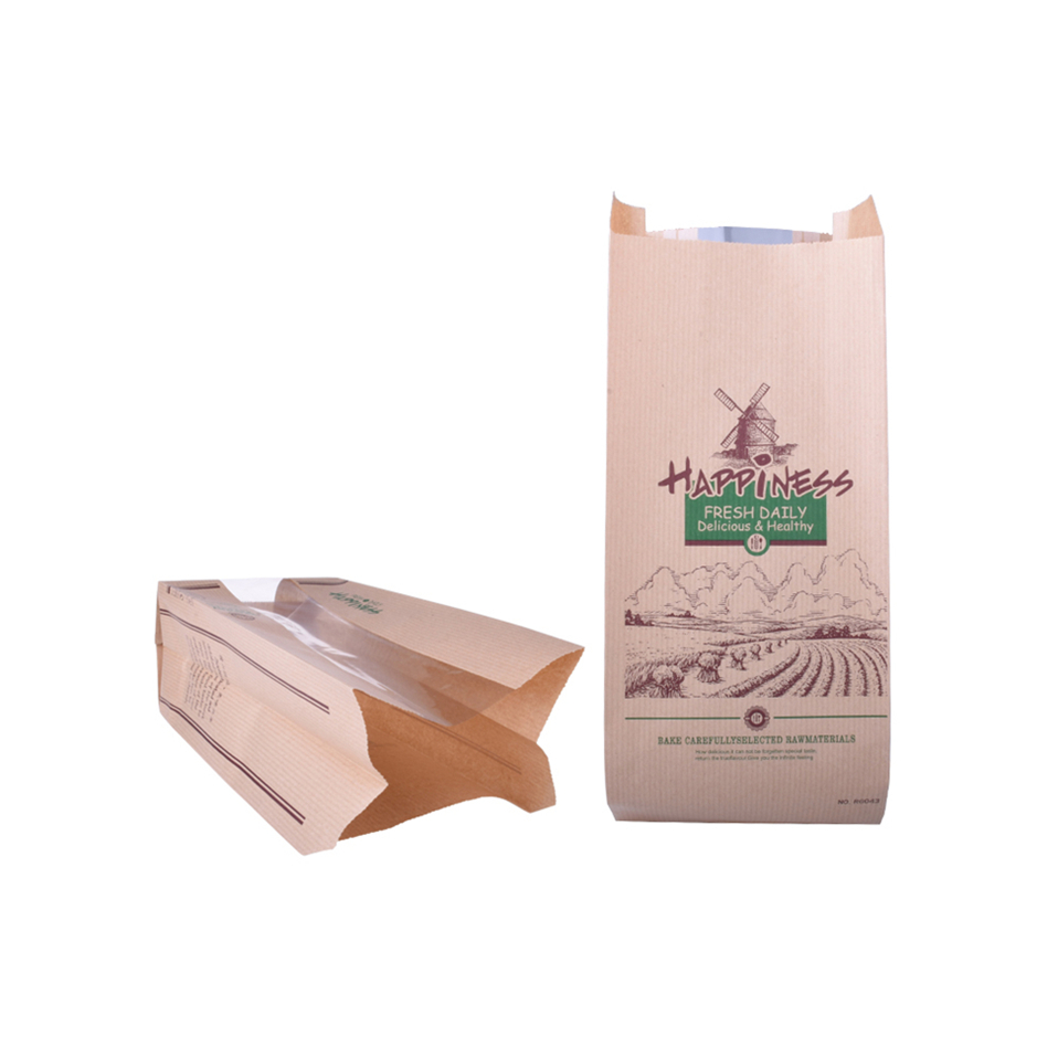 Food Grade Customized Printing Flour Paper Bag For Food