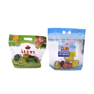 Custom Recycled Material Mango Fruit Potato Packaging Bag