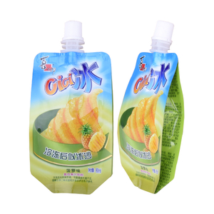 Wholesale Juice Drinking Stand Up Spout Pouch For Liquid Packaging from China