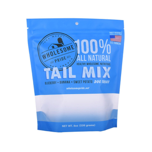 Recyclable Plastic Pet Food Grade Packaging Stand Up Pouch Custom Printed Flexible Bag
