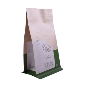 Zipper Top Netherlands Coffee Customize Paper Coffee Bags