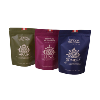 Natural Kraft Paper Logo Printed Packaging Pouch Wholesale Teas Bag