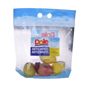 Colorful Packaging 500G-1Kg Anti-Fog Fresh Fruits Clear Potatoes Resealable Fruit Package Bag