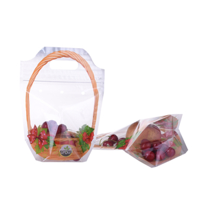 Food-Grade Customized Plastic Fresh Vegetable Fruit Packaging Bag
