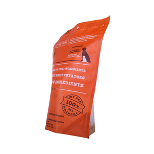 4Oz Hanging Hole Custom Printed Pet Food Snack Biodegradable Doypack