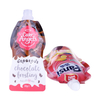Custom Printed Ziplock Drink Food Spout Pouch Plastic Liquid Stand Up Pouch