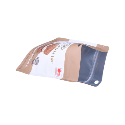 Heat Seal Stand Up Plastic Pouch Sachet