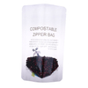 Compostable Translucent Plastic PLA Food Standing Bag with Ziplock