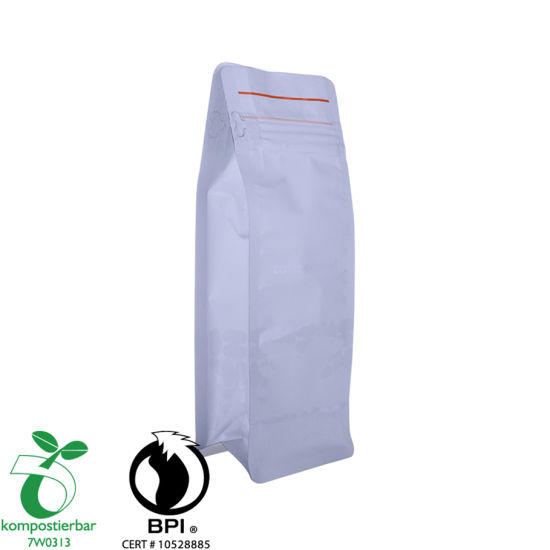 Good Seal Ability Block Bottom Plastic Bag Food Supplier in China