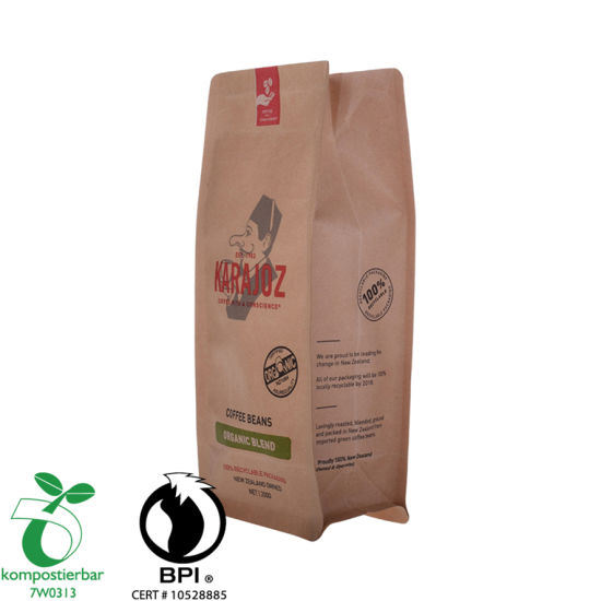 Food Grade Doypack Resealable Coffee Bag Factory From China
