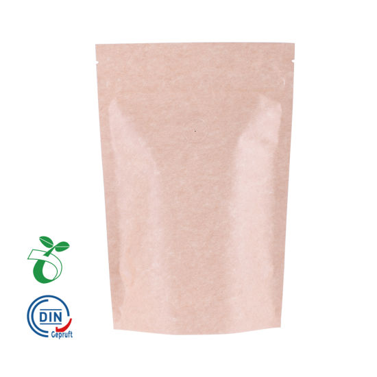 Custom Print Food Paper Corn Starch Bio Degradable Bag with Your Own Logo