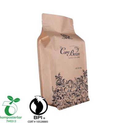 Ziplock Flat Bottom Eco Friendly Chocolate Packaging Factory China