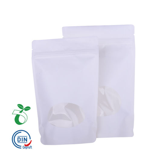 Fsc Certificated Paper Packaging 100% Recycle Biodegradable Bags