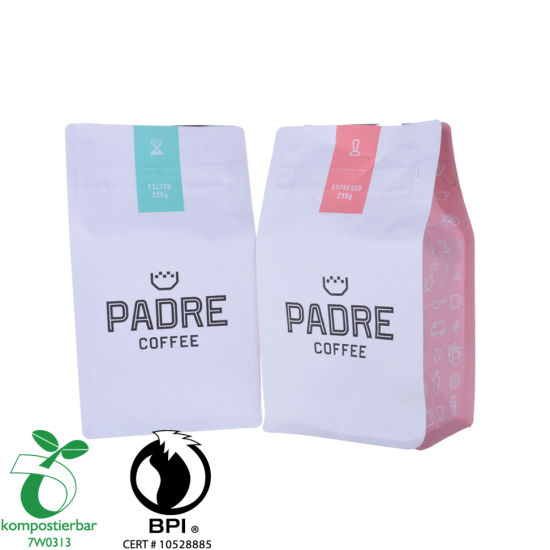 Heat Seal Square Bottom Eco Bag Logo Wholesale in China