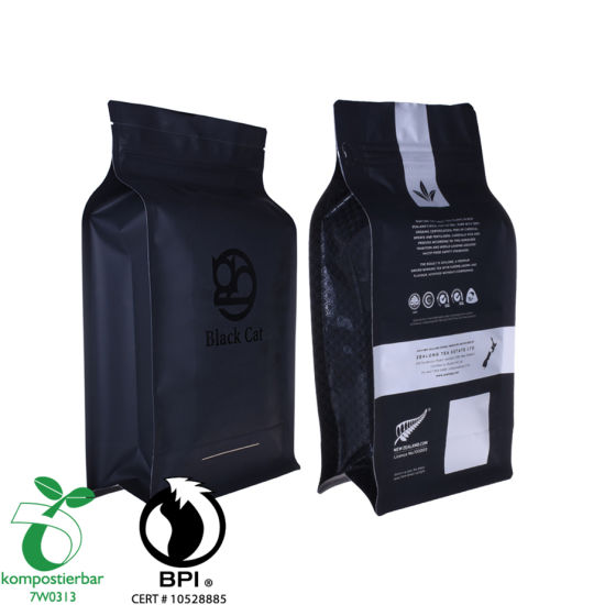 Reusable Clear Window Coffee Bag Sticker Factory From China