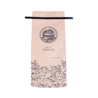 Eco Friendly Compostable Packaging Bags Recycle Biodergradable Coffee Bag