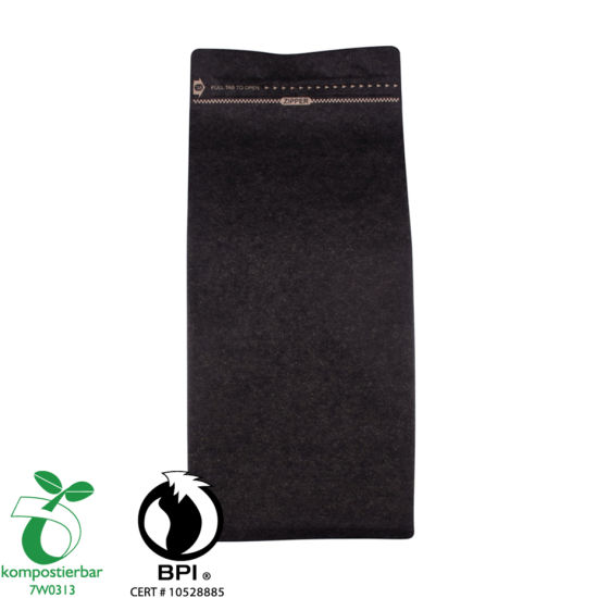 Plastic Zip Lock Compostable Coffee Filter Paper Packaging Supplier in China