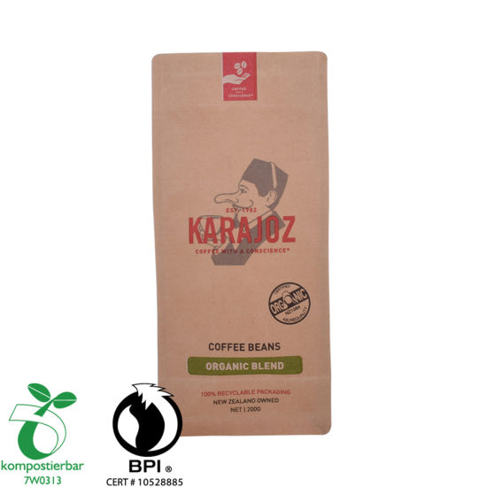 Recycle Kraft Paper Brown Tea Packaging Bag Wholesale From China