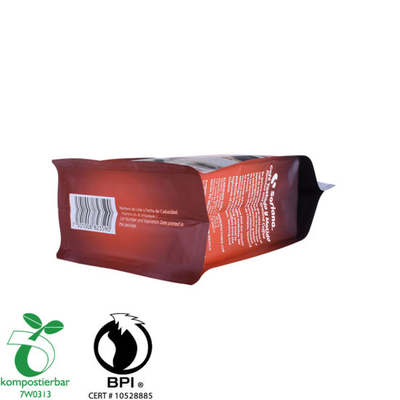 Recyclable Box Bottom Plastic Pouch with Zipper Manufacturer in China