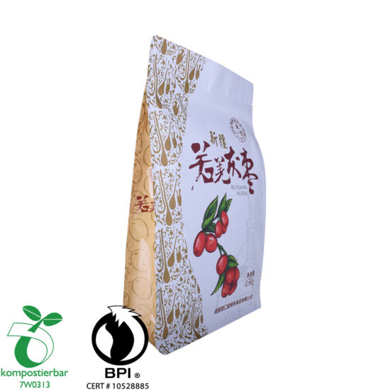 Food Ziplock Square Bottom 100 Micron Plastic Bag Manufacturer From China