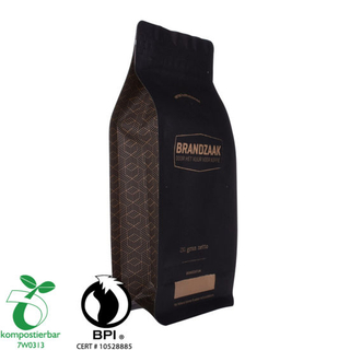 100% Biodegradable Coffee Bags with Valve