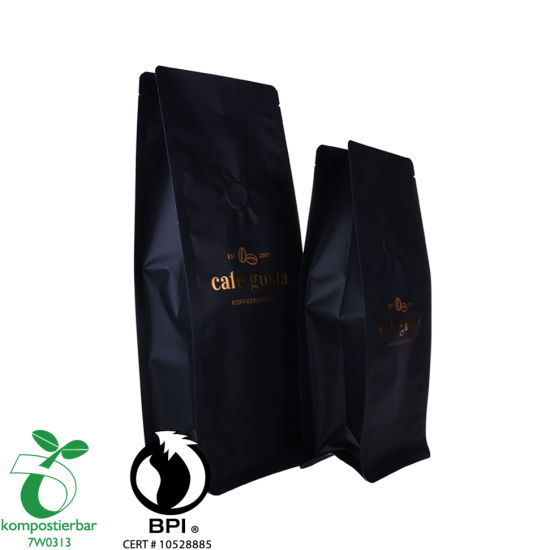 Whey Protein Powder Packaging Square Bottom Raw Material for Biodegradable Bag Wholesale in China